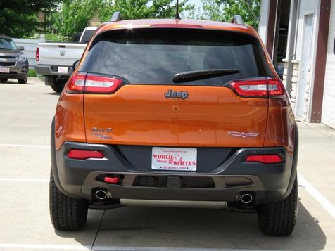 2015 Jeep Cherokee Trailhawk 4WD V6 Leather/Panoramic/Navigation  in Ankeny, IA