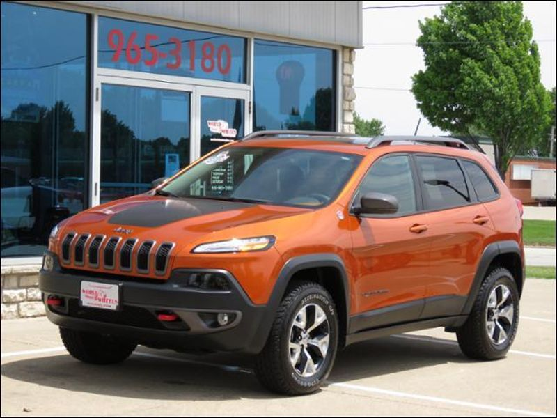 2015 Jeep Cherokee Trailhawk 4WD V6 Leather/Panoramic/Navigation  in Ankeny IA