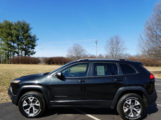 2015 Jeep Cherokee Trailhawk Leesburg, Virginia 4