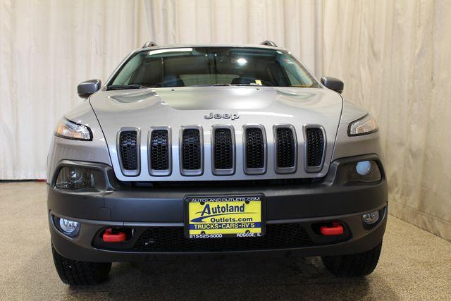 2015 Jeep Cherokee Trailhawk Roscoe, Illinois 3