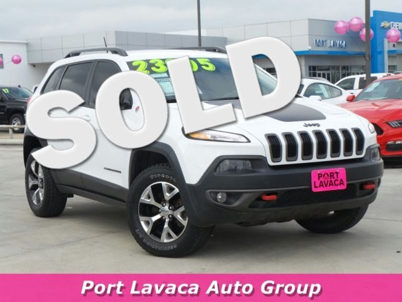 2015 Jeep Cherokee Trailhawk   Texas  Victoria Certified  in , Texas