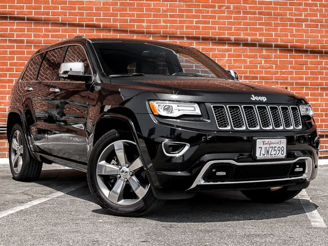 2015 Jeep Grand Cherokee Overland Burbank, CA 2