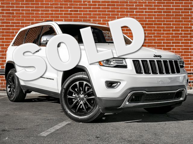 2015 Jeep Grand Cherokee Limited Burbank, CA 1
