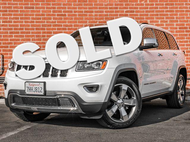 2015 Jeep Grand Cherokee Limited Burbank, CA 0