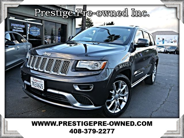 2015 Jeep GRAND CHEROKEE SUMMIT (*EVERY OPTION*)-NAVIGATION & BACKUP-*AWD*  in Campbell CA