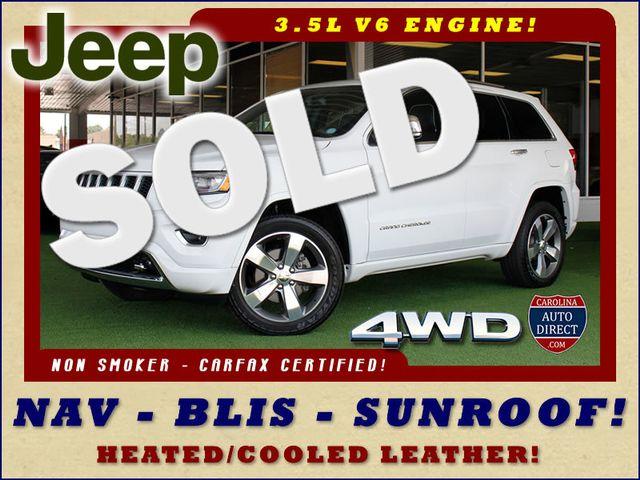 2015 Jeep Grand Cherokee Overland 4WD - BLIND SPOT-NAV-SUNROOFS! Mooresville , NC 0