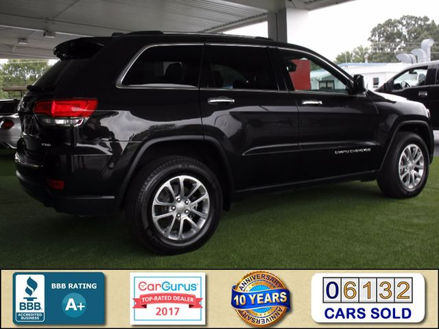 2015 Jeep Grand Cherokee Limited 4WD - NAVIGATION - SUNROOF! Mooresville , NC 2