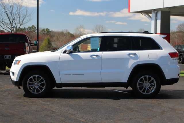 2015 Jeep Grand Cherokee Limited 4WD - TURBO DIESEL - NAV -SUNROOF! Mooresville , NC 16