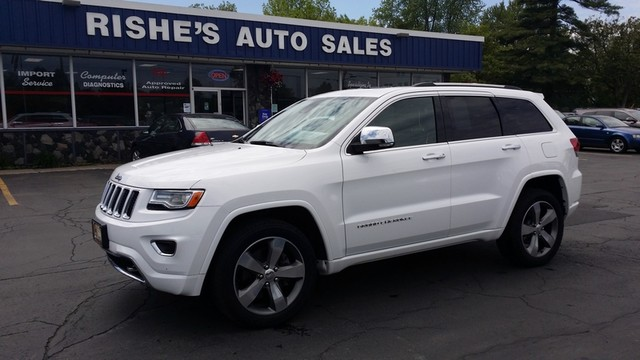 2015 Jeep Grand Cherokee Overland | Ogdensburg, New York | Rishe's Auto Sales in Ogdensburg New York