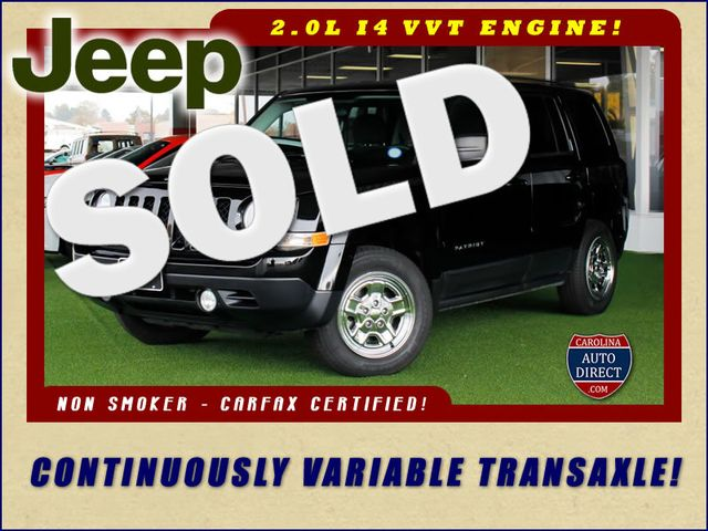 2015 Jeep Patriot Sport FWD - CONTINUOUSLY VARIABLE TRANSAXLE! Mooresville , NC 0