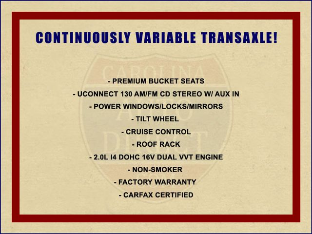 2015 Jeep Patriot Sport FWD - CONTINUOUSLY VARIABLE TRANSAXLE! Mooresville , NC 1