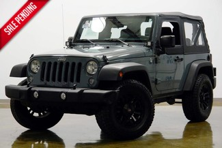 2015 Jeep Wrangler in Dallas Texas