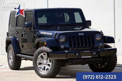2015 Jeep Wrangler Unlimited Sahara Warranty Automatic in Plano