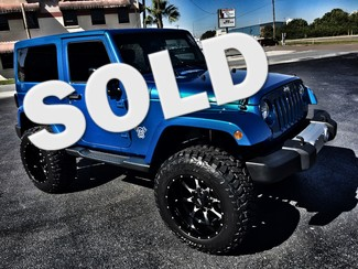 2015 Jeep Wrangler CUSTOM LIFTED SAHARA HEATED SEATS HARDTOP in ,, Florida