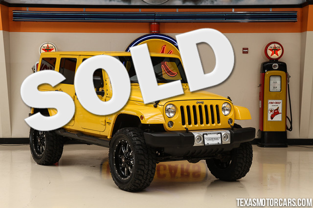 2015 Jeep Wrangler Unlimited Sahara This Carfax 1-Owner 2015 Jeep Wrangler Unlimited Sahara is in
