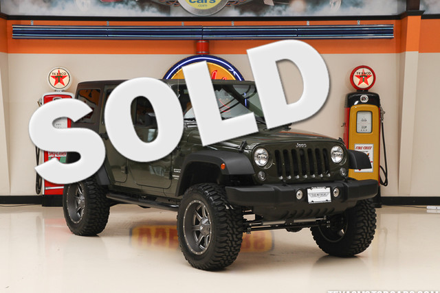 2015 Jeep Wrangler Unlimited Sport This Carfax 1-Owner 2015 Jeep Wrangler Unlimited Sport is in gr