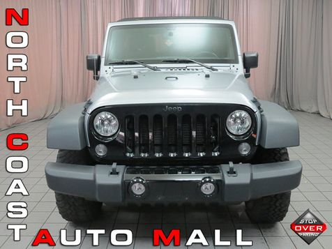2015 Jeep Wrangler Unlimited Willys Wheeler in Akron, OH