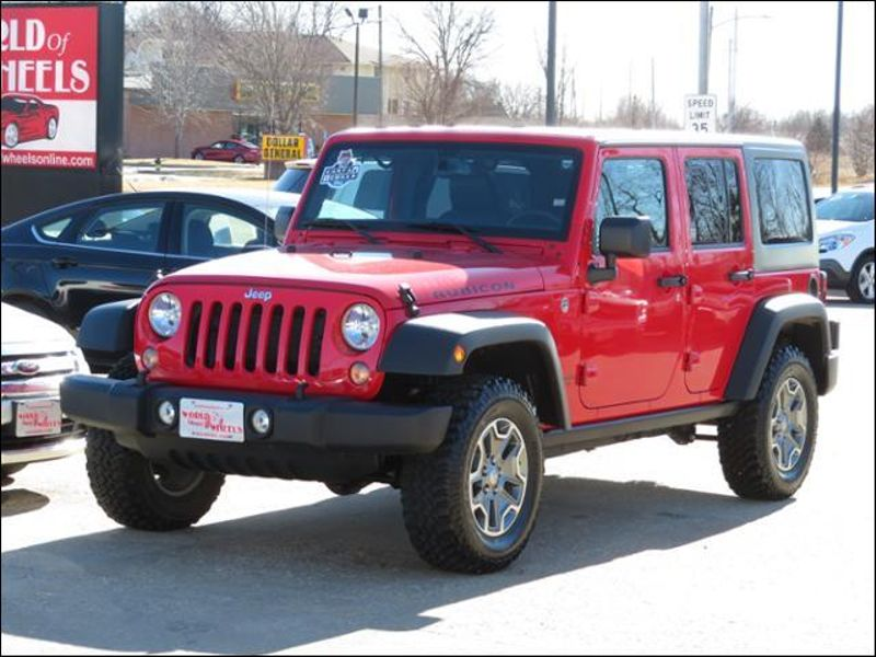 2015 Jeep Wrangler Unlimited Rubicon Hardtop Automatic in Ankeny IA