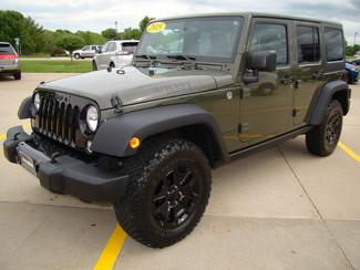 2015 Jeep Wrangler Unlimited Willys Wheeler Bettendorf, Iowa 33