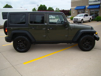 2015 Jeep Wrangler Unlimited Willys Wheeler Bettendorf, Iowa 28