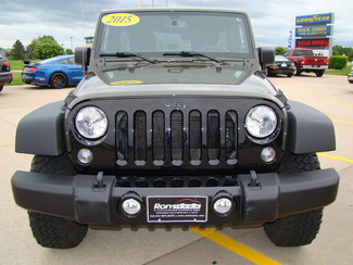 2015 Jeep Wrangler Unlimited Willys Wheeler Bettendorf, Iowa 1
