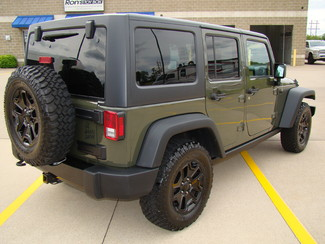 2015 Jeep Wrangler Unlimited Willys Wheeler Bettendorf, Iowa 6