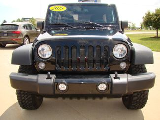 2015 Jeep Wrangler Unlimited Willys Wheeler Bettendorf, Iowa 1