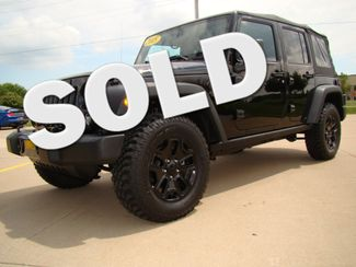 2015 Jeep Wrangler Unlimited Willys Wheeler Bettendorf, Iowa