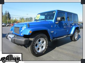 2015 Jeep Wrangler Unlimited Sahara 4DR 4WD Burlington, WA