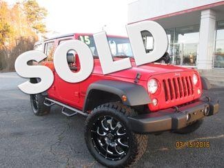 2015 Jeep Wrangler Unlimited Sport Canton , GA