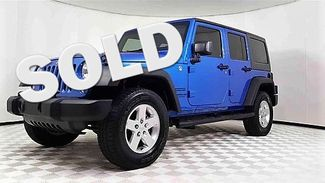 2015 Jeep Wrangler Unlimited Sport in Garland