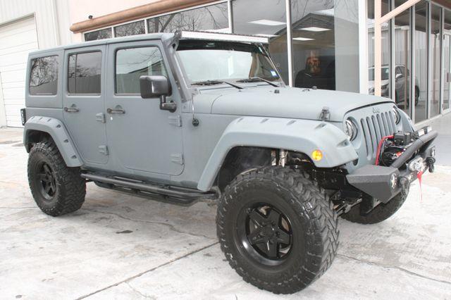 2015 Jeep Wrangler Unlimited Sport Custom Houston, Texas 2