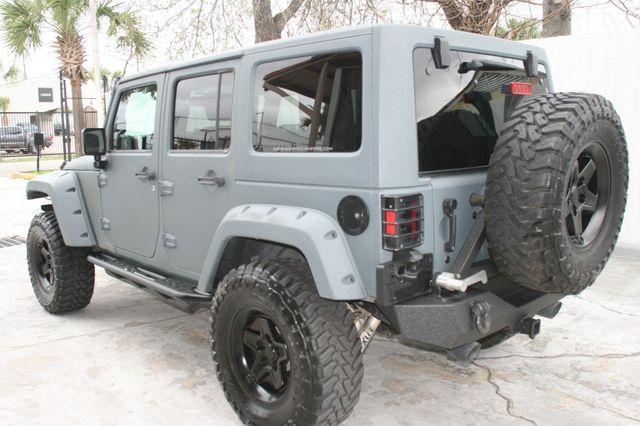 2015 Jeep Wrangler Unlimited Sport Custom Houston, Texas 5