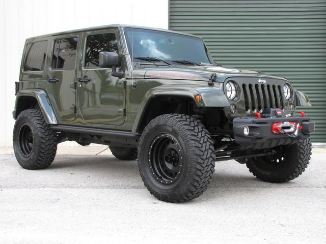 2015 Jeep Wrangler Unlimited Rubicon Hard Rock Jacksonville , FL 40