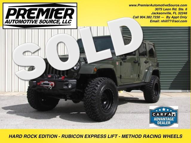 2015 Jeep Wrangler Unlimited Rubicon Hard Rock Jacksonville , FL 0