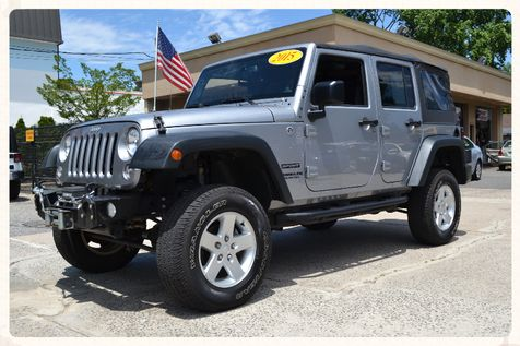 2015 Jeep Wrangler Unlimited Sport in Lynbrook, New
