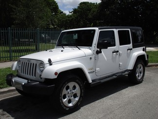 2016 Jeep Wrangler Unlimited Sahara Miami, Florida 0
