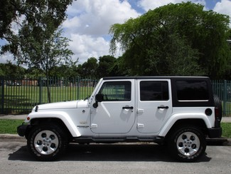 2016 Jeep Wrangler Unlimited Sahara Miami, Florida 1