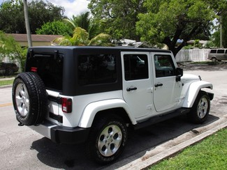 2016 Jeep Wrangler Unlimited Sahara Miami, Florida 4