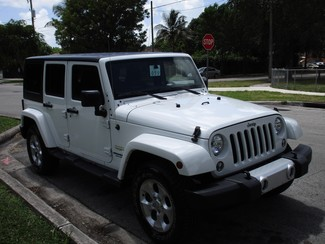 2016 Jeep Wrangler Unlimited Sahara Miami, Florida 5