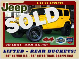2015 Jeep Wrangler Unlimited Sahara 4X4 - LIFTED - REAR BUCKET SEATS! Mooresville , NC