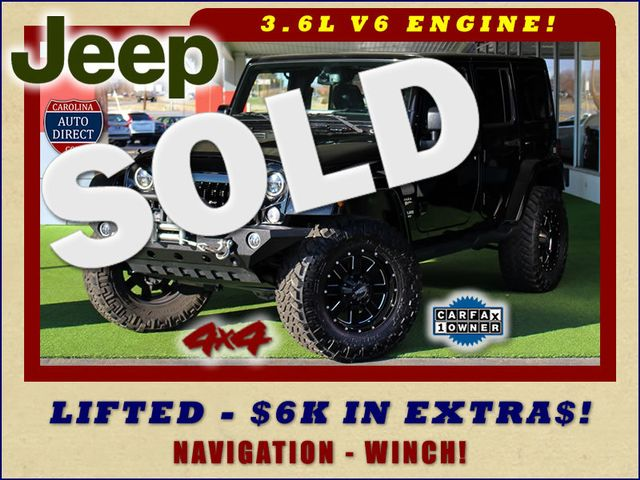 2015 Jeep Wrangler Unlimited Sahara 4x4 - LIFTED - $6K IN EXTRA$! Mooresville , NC 0