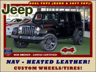 2015 Jeep Wrangler Unlimited Rubicon 4x4 - NAV - HEATED LEATHER - WHEELS! Mooresville , NC