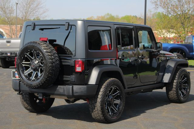 2015 Jeep Wrangler Unlimited Rubicon 4x4 - NAV - HEATED LEATHER - WHEELS! Mooresville , NC 28