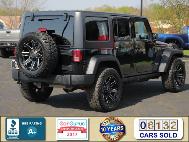 2015 Jeep Wrangler Unlimited Rubicon 4x4 - NAV - HEATED LEATHER - WHEELS! Mooresville , NC 2