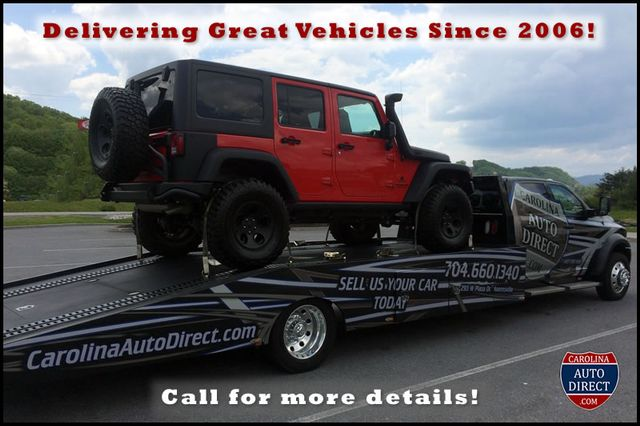 2015 Jeep Wrangler Unlimited Rubicon 4x4 - NAV - HEATED LEATHER - WHEELS! Mooresville , NC 23
