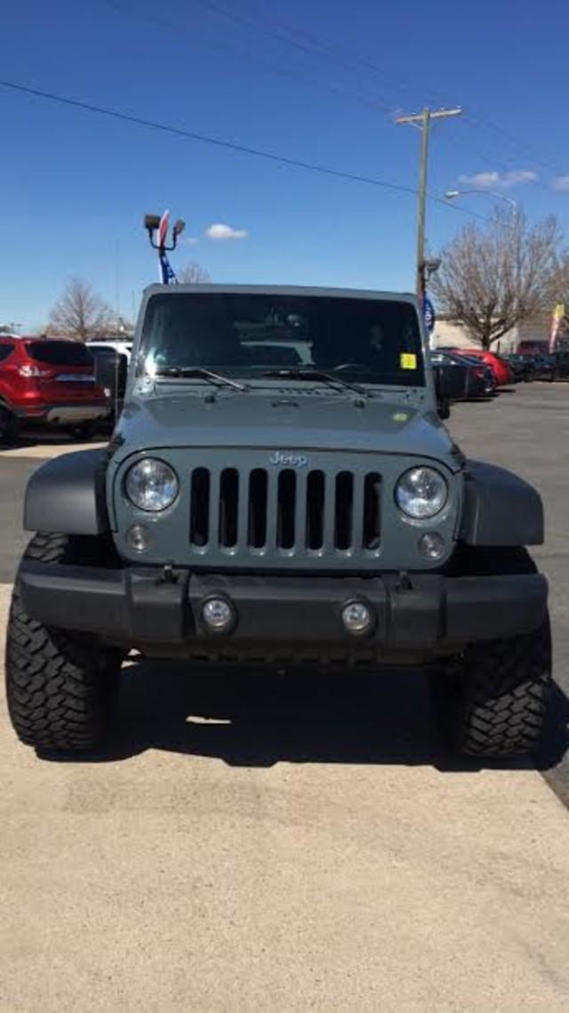 2015 Jeep Wrangler Unlimited Sport Ogden, Utah 1