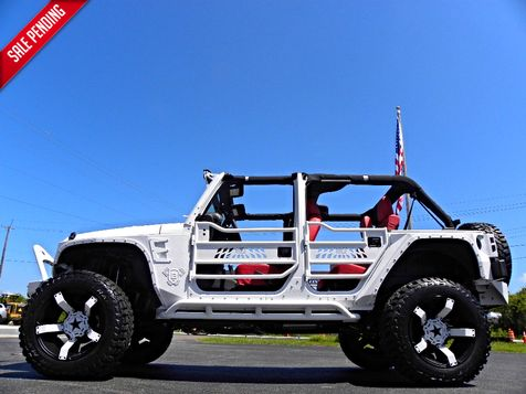 2015 Jeep Wrangler Unlimited IRON PATRIOT*CUSTOM LIFTED*ROCKSTARS*DV8*ZONE in , Florida
