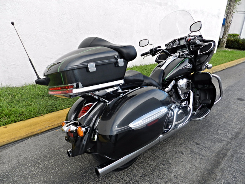 2015 Kawasaki VN1700BFF Vulcan 1700 Voyager (ABS) LIKE NEW WARRANTY  city Florida  MC Cycles  in Hollywood, Florida