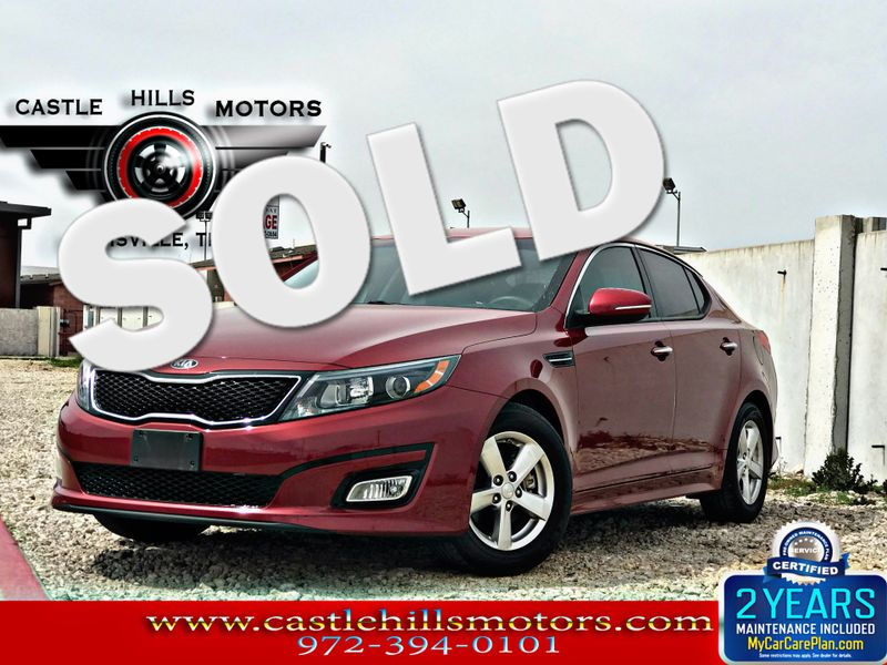 2015 Kia Optima LX | Lewisville, Texas | Castle Hills Motors in Lewisville Texas